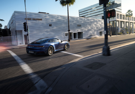 The new 911 Carrera 4S