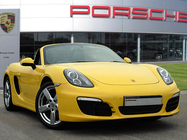 Boxster (981) Racing Yellow