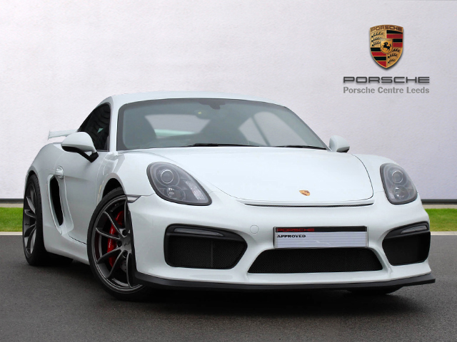 Cayman GT4, White